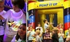Pump It Up - Fitchburg: $8 for Three Pop-In Playtime Passes at Pump It Up, the Inflatable Party Zone ($24 Value)