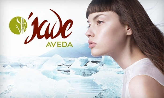 Jade Aveda - Greensboro: $94 for an Express Elemental Nature Facial, Haircut, and Full-Foil Color at Jade Aveda Salon in Greensboro