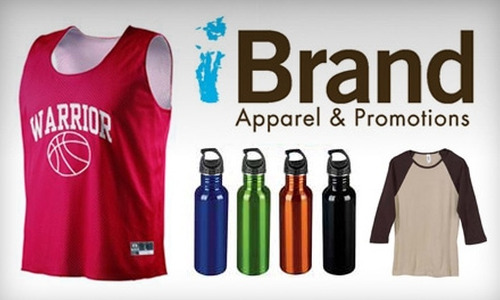 iBrand Apparel & Promotions: $200 for $300 Worth of Customizable Goods, Plus Free Shipping for Life, from iBrand Apparel & Promotions