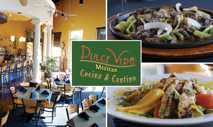 Dulce Vida Cocina & Cantina - Stone Oak: $15 for Up to $35 Worth of Mexican Fare and Drinks at Dulce Vida Cocina & Cantina