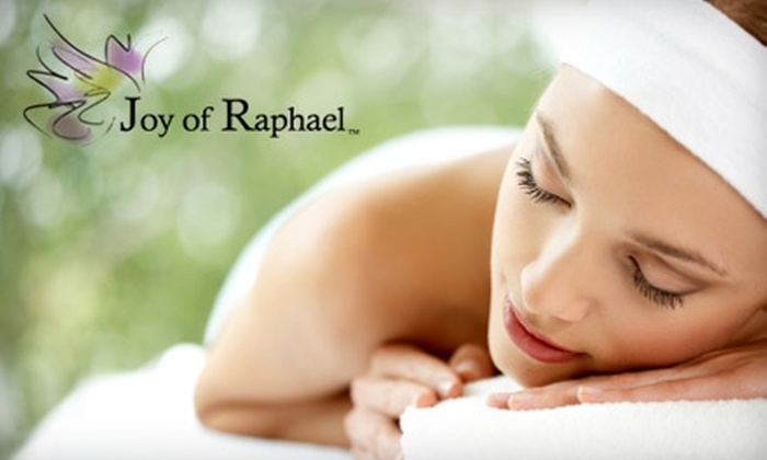 Joy of Raphael - Carmel: $60 for Acupuncture Session and Far-Infrared-Sauna Session ($165 Value) or $65 for Acupuncture Session and Ionic Foot Bath ($170 Value) at Joy of Raphael in Carmel