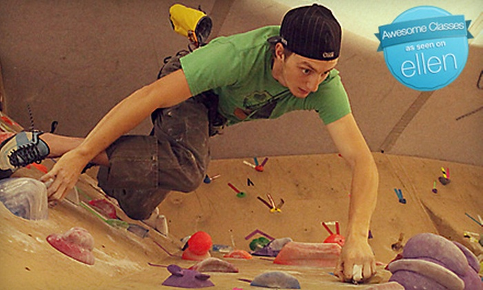 Carabiner's Indoor Climbing - New Bedford: Climbing Classes and Membership to Carabiner's Indoor Climbing in New Bedford. Three Options Available.