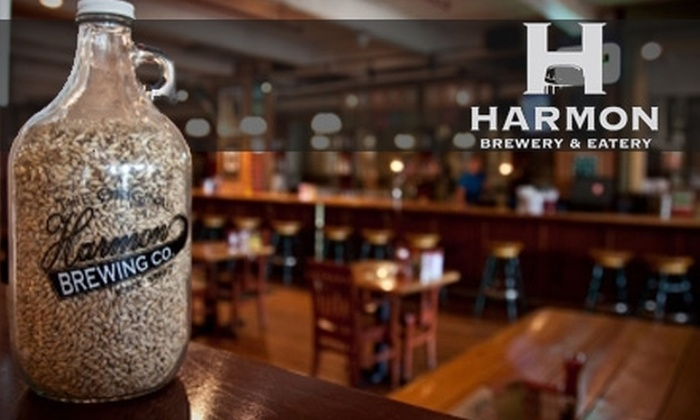 Harmon Brewery and Restaurant - New Tacoma: $15 for $30 Worth of Gastropub Fare and Drinks at the Harmon Brewery and Restaurant