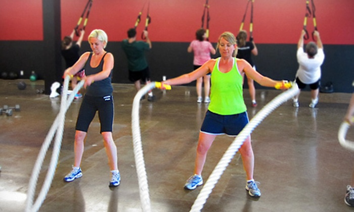 Synergy Fitness Bootcamp - Multiple Locations: Six Weeks of Unlimited Indoor or Outdoor Boot Camp from Synergy Fitness Bootcamp (Up to 89% Off)