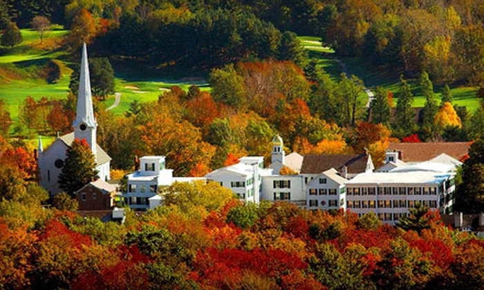 The Inns at Equinox - Manchester: One-Night Stay in a Deluxe Room for Up to Three at the Inns at Equinox in Vermont