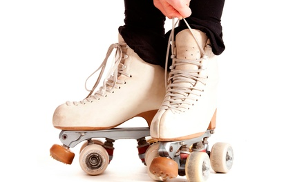 Roller-Skating and Play Zone with Skate Rentals for Two or Four at Skate Center of Roanoke Valley (50% Off)