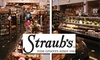 Straub's - Multiple Locations: $15 for $35 Worth of Groceries at Straub's Fine Grocers
