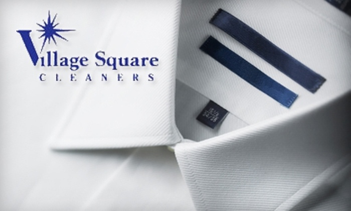 Village Square Cleaners - Multiple Locations: $20 for $50 Worth of Home-Delivered or Pick-Up Dry-Cleaning Services from Village Square Cleaners