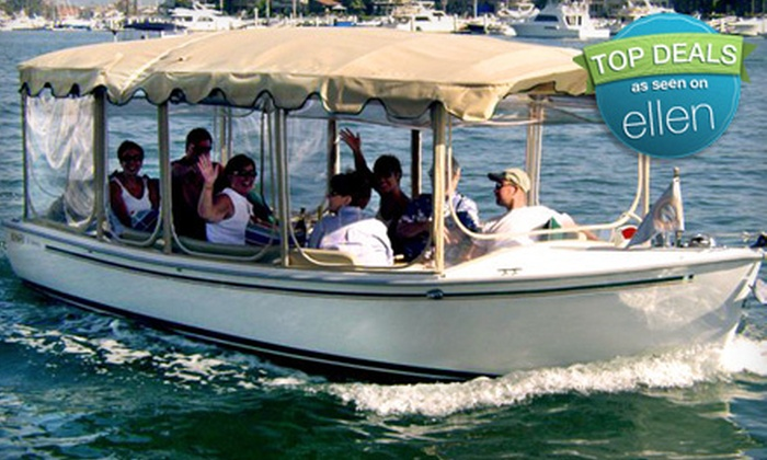 The Electric Boat Company - Westlake: $98 for a Two-Hour Boat Rental for Up to 10 People from The Electric Boat Company ($194.91 Value)