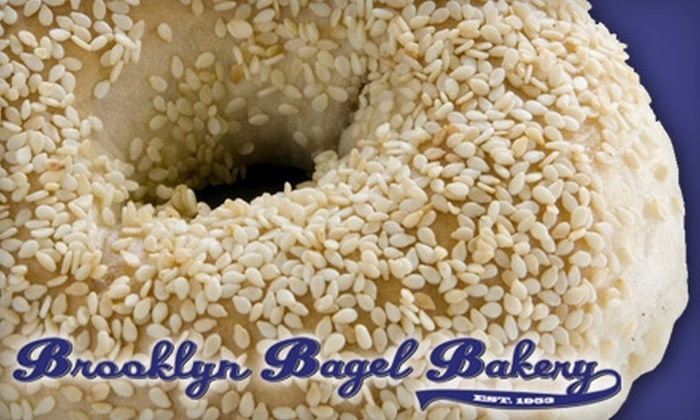 Brooklyn Bagel Bakery - Westlake: $5 for 13 Bagels and an Eight-Ounce Cream Cheese at Brooklyn Bagel Bakery ($11.50 Value)