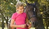 Luton Training Center - Williamston: $35 for Two 45-Minute Private Horseback-Riding Lessons at Luton Training Center ($70 Value)