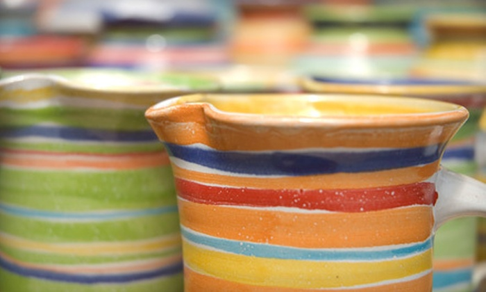 Van Grow: Studio of the Arts - Monticello: $15 for $30 Worth of Pottery or Painting Classes at Van Grow: Studio of the Arts