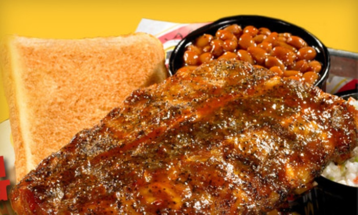 Shane's Rib Shack - Phoenix: $10 for $20 Worth of Barbecue Fare and Drinks at Shane's Rib Shack - Glendale