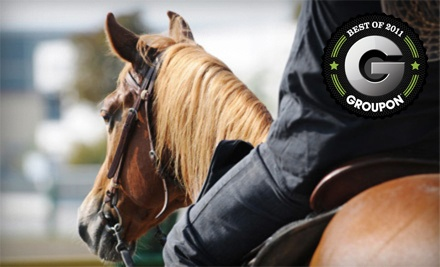 Two Beginner Riding Lessons for Anyone Older Than 5 (a $180 Value) - Vail Meadows Equestrian Center in Oregon