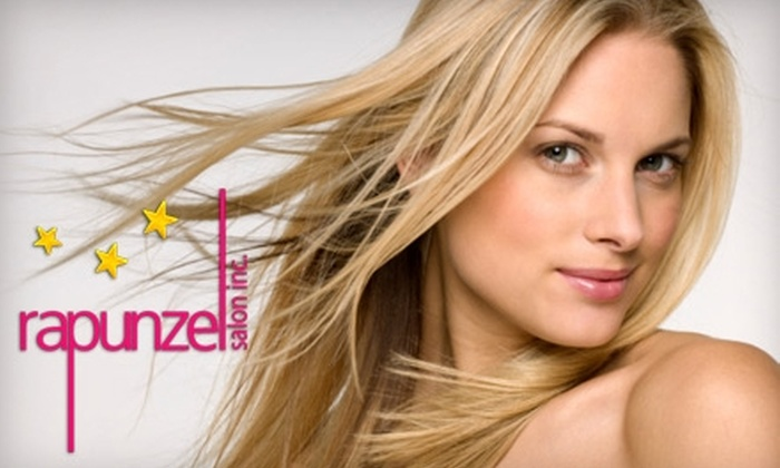 Rapunzel Salon Inc. - Upper East Side: $50 for $100 Worth Of Hair Extensions and More at Rapunzel Salon