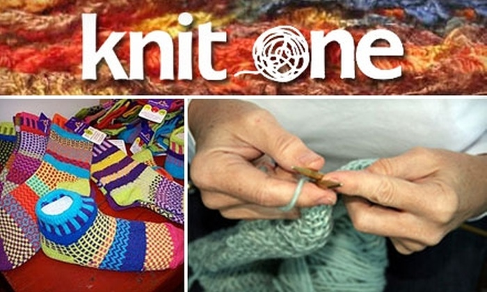 Knit One - Squirrel Hill South: $10 for One Group or Private Beginner Knitting Class at Knit One ($25 Value)