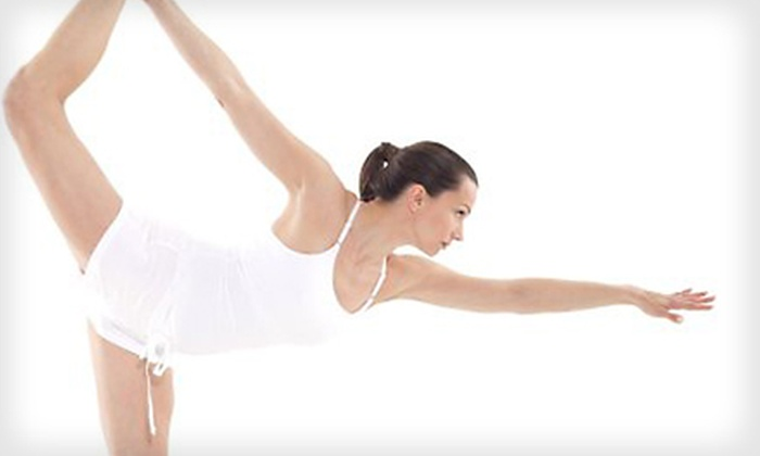 Pure Yoga Pilates Studio - Wilmington: Five or 10 Drop-in Classes at Pure Yoga Pilates Studio