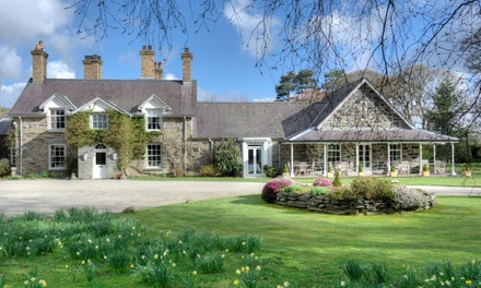 Michelin Star: ThreeCourse Lunch or SixCourse Tasting Menu Dinner for Up to Four at Tyddyn Llan