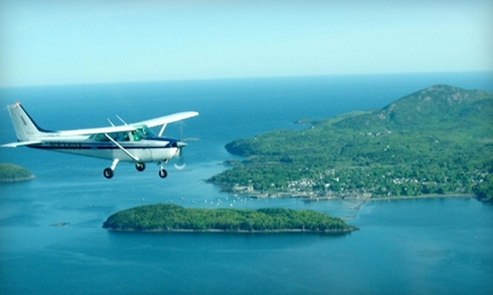 Airlink LLC - Waterville: $57 for an Introductory Flight Lesson, Ground Instruction, and Log Book at Airlink LLC in Waterville ($104 Value)