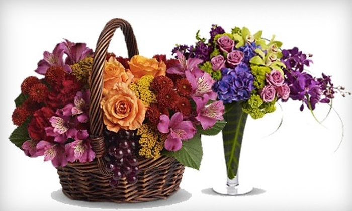 Cox Flowers - Cuyahoga Falls: $20 For $45 Worth of Floral Arrangements, Gift Baskets, And More At Cox Flowers