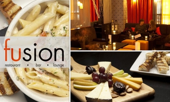 Fusion - Uptown: $20 for $40 Worth of Sushi and Small Plates at Fusion