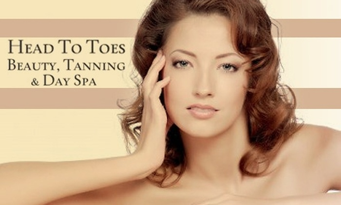 Head To Toes Beauty, Tanning & Day Spa - Barclay Hills: $49 for One of Five Beauty Packages at Head to Toes Beauty, Tanning & Day Spa