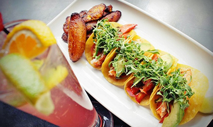 Hodsons Bar & Grill - Central Business District: $20 for $40 Worth of Eclectic American Cuisine and Drinks at Hodsons Bar & Grill