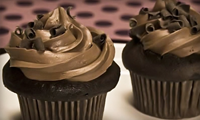 Cupcake Craving - Multiple Locations: $7 for $15 Worth of Gourmet Cupcakes at Cupcake Craving. Choose from Three Locations.
