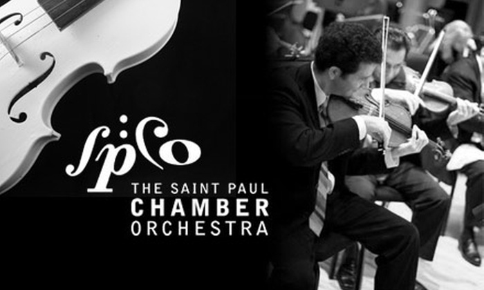 "Saint Paul Chamber Orchestra - Northwestern Precinct: One Ticket to the Saint Paul Chamber Orchestra for the Friday, June 11, Performance of Schumann's ""Spring"" Symphony. Two Seating Options Available."