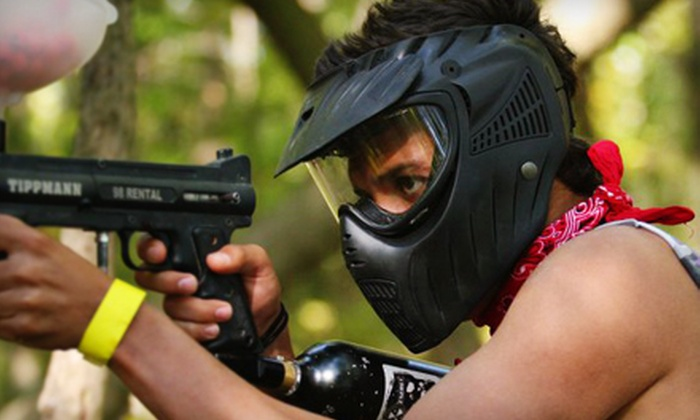 Lone Wolf Paintball - Mount Clemens: All-Day Play, Upgraded Equipment, and 500 Paintballs or Three-Hour Paintball Party for up to 20 People at Lone Wolf Paintball in Mount Clemens
