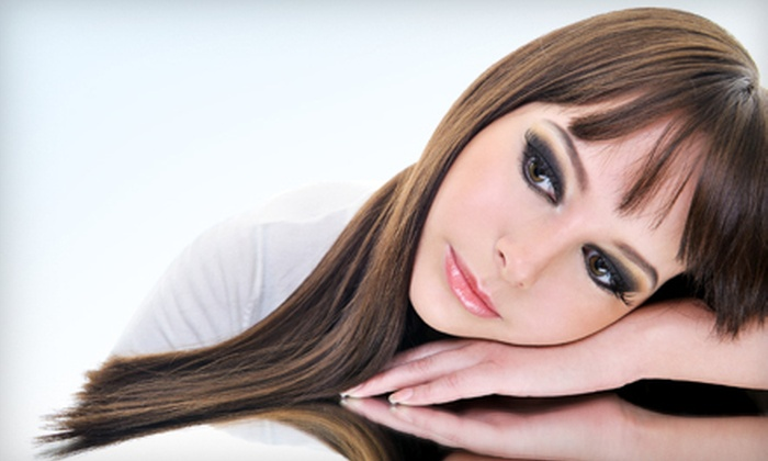 Avery Bella Salon and Spa - Denver: One, Two, or Four Formaldehyde-Free Hair-Smoothing Treatments at Avery Bella Salon and Spa (Up to 73% Off). Three Options Available.