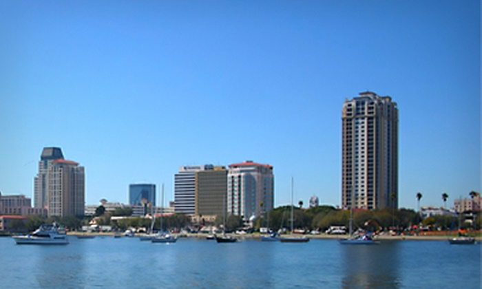 Tampa Water Taxi Company - Downtown: Famous Homes Boat Tour Featuring Derek Jeter Mansion for One, Two, or Four from Tampa Water Taxi Company