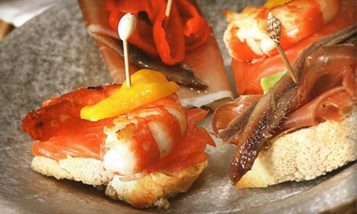 Terra Restaurant & Bar - Colliseum Central: Tapas, Flatbreads, and Sandwiches at Terra Restaurant & Bar in Hampton (Up to 58% Off). Two Options Available.