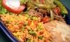 Fajitas Grill - Miramar Beach: $15 for $30 Worth of Mexican Fare and Drinks at Fajitas Grill