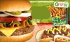 Central Park Burgers - Sumter: $6 for $12 Worth of Burgers and Classic American Fare at Central Park Burgers in Sumter