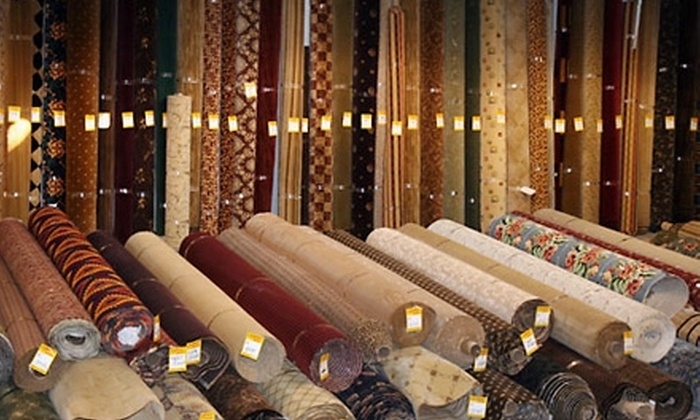 Carpet Depot - Kings Row: $50 for $100 Worth of Carpets, Vinyl Tile, and Area Rugs at Carpet Depot