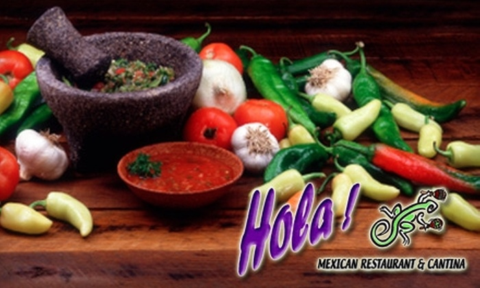 Hola! Mexican Restaurant & Cantina - Multiple Locations: $25 for $50 Worth of Mexican Fare and Drinks at Hola! Mexican Restaurant & Cantina