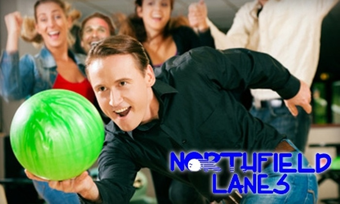 Northfield Lanes - Creston: $10 for Two Games of Bowling for Two People, Two Pairs of Rental Shoes, and a Pitcher of Soda at Northfield Lanes (Up to $23.50 Value)