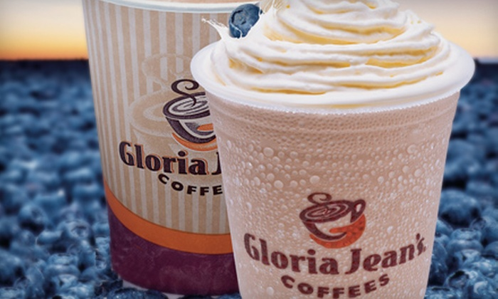 Gloria Jean's Coffees - Greendale: $12 for Five Medium Chillers at Gloria Jean's Coffees in Greendale ($23.75 Value)