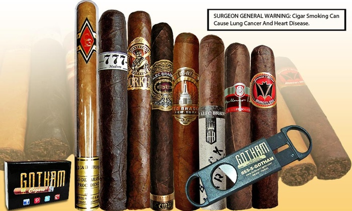 Gotham Cigars Summer Sampler: $38.99 for a Gotham Cigars Summer Sampler with Single-Blade Cutter ($71 List Price). Free Shipping.