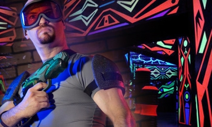 Laserdome - Rapho: Laser-Tag Package at Laserdome in Manheim. Choose Between Two Options.