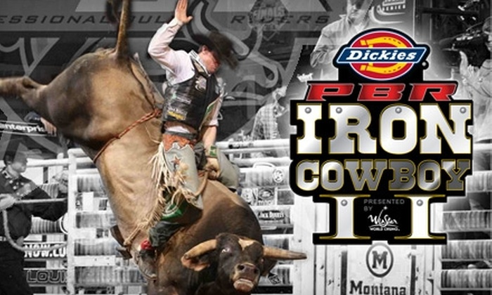 Professional Bull Riders' Dickies Iron Cowboy Invitational - Arlington: Ticket to the Professional Bull Riders' Dickies Iron Cowboy Invitational and a Toby Keith Concert at Cowboys Stadium. Three Seating Options Available.