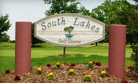 Golf Outing for Two (up to a $97 total value) - South Lakes Golf Course in Jenks