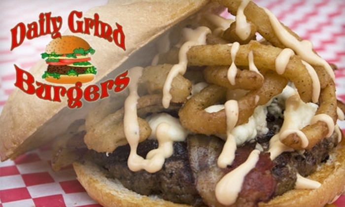 Daily Grind Burgers - Port Orange: $6 for $12 Worth of Burgers and More at Daily Grind Burgers