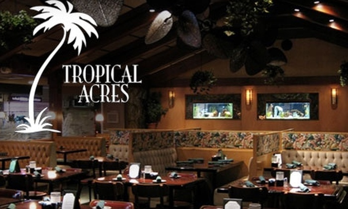 tropical acres coupon