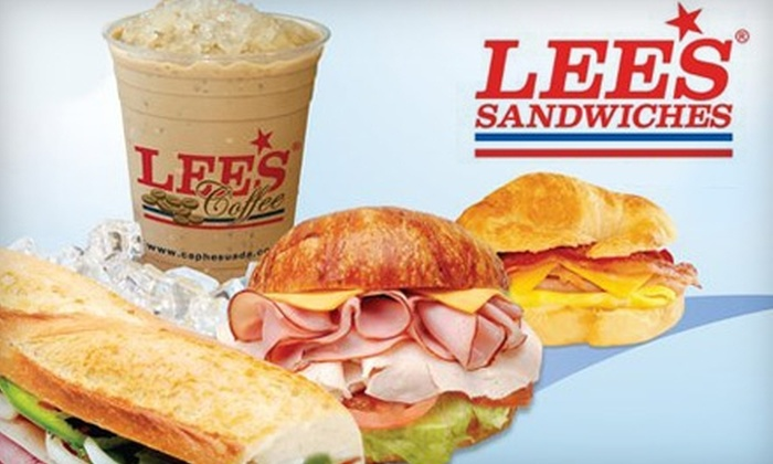 Lee's Sandwiches - Corridor South: $5 for $10 Worth of Eclectic Sandwiches, Fresh-Baked Breads, Ice Cream and More at Lee's Sandwiches