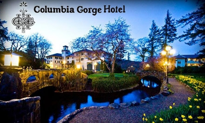 Columbia Gorge Hotel - Hood River: $120 for One Night's Stay at the Columbia Gorge Hotel, Plus $40 Toward Dinner at Simons (Up to $309 Value)