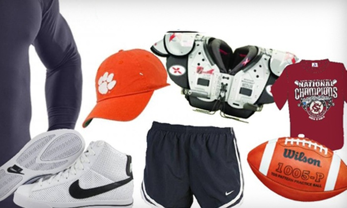 Sportsman's Shop T&T Sports - Multiple Locations: $15 for $30 Worth of Sporting Goods and Equipment at Sportsman's Shop T&T Sports. Three Locations Available.
