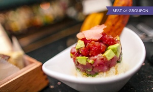 Ecco: Upscale American Dinner with Apps, Entrees, and Desserts for Two or $25 for $40 Worth of Brunch at Ecco