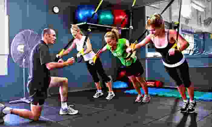 Bailey's Powerhouse Gym - Multiple Locations: $20 for One-Month Membership, Personal-Training Session, and Group Fitness Classes at Bailey's Powerhouse Gym ($70 Value)